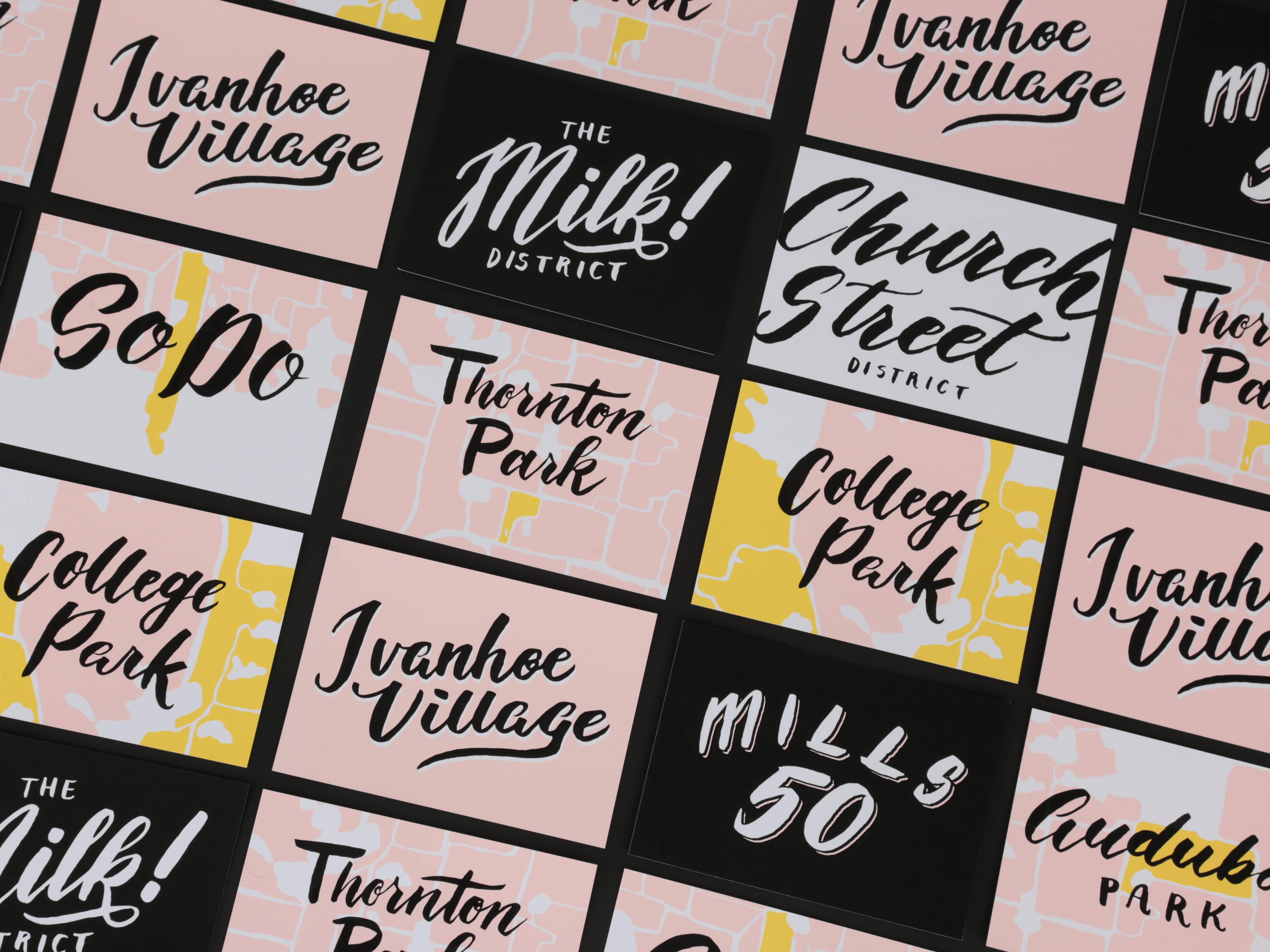 Orlando Main Street Postcards