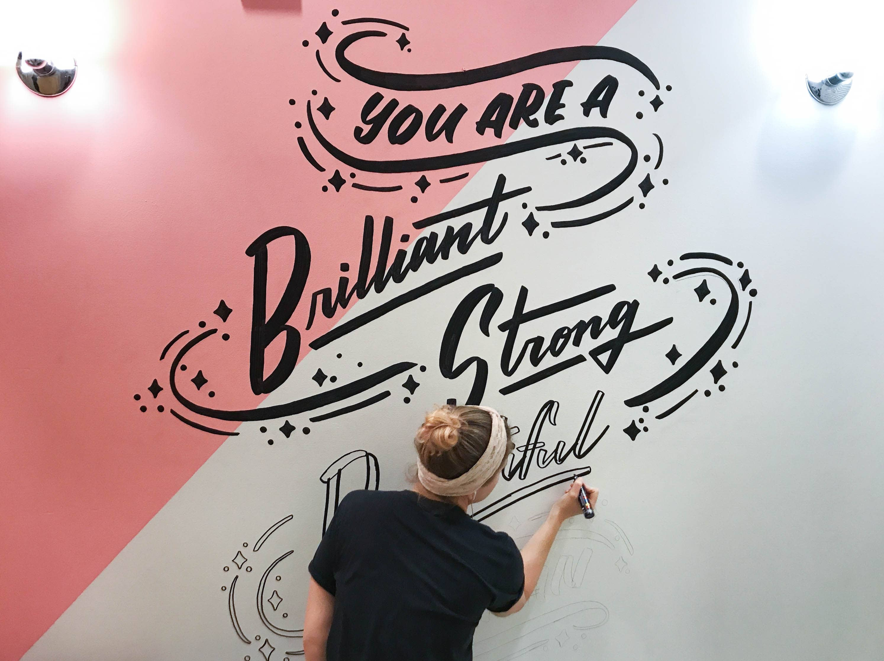 Bloomingdales Fitting Room Mural - Duplicate