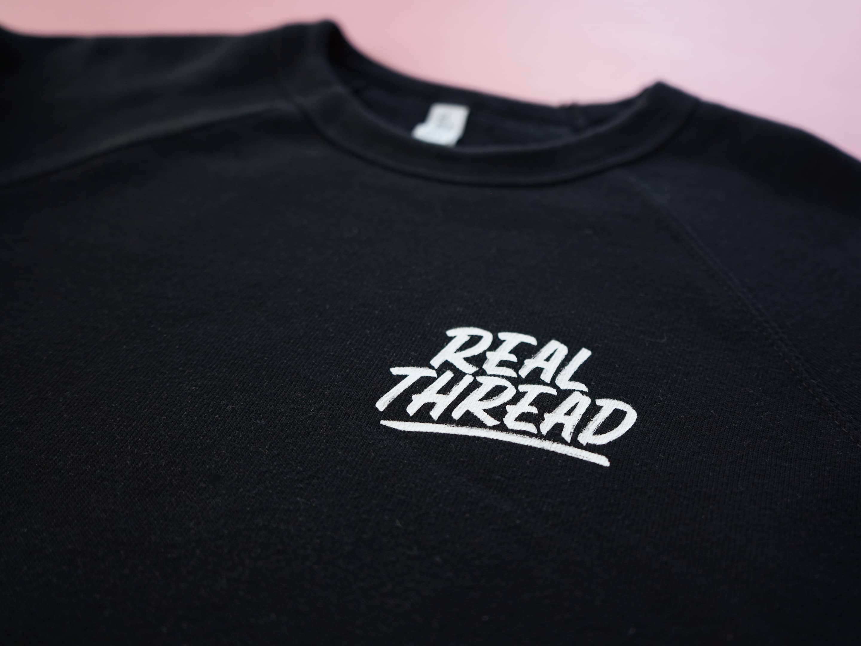 Real Thread T-Shirt Design